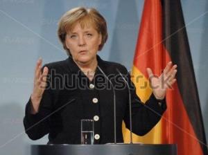 Angela Merkel durante una reciente intervención (Berlín | Alemanía)