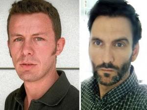 El periodista de 'El Mundo', Javier Espinosa, y el fotógrafo freelance, Ricardo García Vilanova, secuestrados en Siria (El Mundo/Family Handout/AFP)