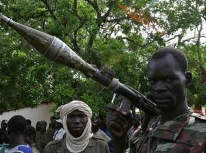 Rebelde en el norte de la República Centroafricana