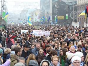 ucrania manifestacion