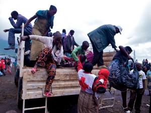 Un grupo de refugiados del Congo llega a Ruanda en busca de asilo. Fuente: noodlepie / Flickr