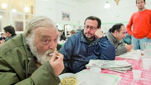 Comedor social en Italia