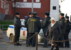 Agentes de la policía rusa. Dave Conner.