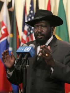 El presidente de Sudán del Sur, Salva Kiir. Fuente:  Jenny Rocket /Wikimedia Commons
