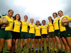 Equipo femenino de Rugby Seven