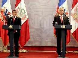 Presidentes de Chile y Perú