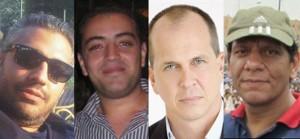 Los cuatro periodistas de Al Yazira detenidos