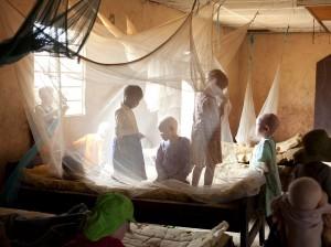 Niños albinos en el Centro Kabanga, en Tanzania / Foto cedida por National Geographic
