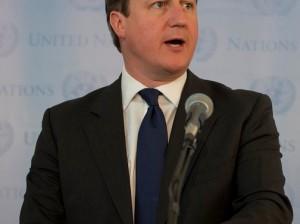 David Cameron, premier británico. Creative Commons.