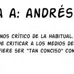 Entrevista a: Andés Rábago, El Roto
