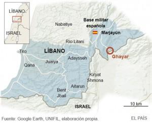 Fuente: Google Earth. Zona en la que se ha producido el ataque