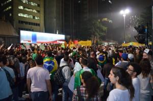 Manifestaciones en São Paulo. Foto/ CARLOS VARELA en Flickr.