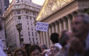 Manifestaciones en Argentina por la muerte del fiscal Nismar