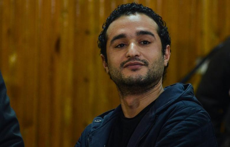 Ahmed Douma, el activista condenado a cadena perpetua - AFP