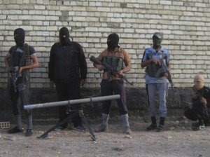 Yihadistas suníes a las afueras de Falluya - Reuters