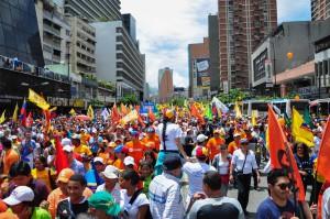 Caracas (Venezuela) Puesto 296 PIB per cápita -3,5%