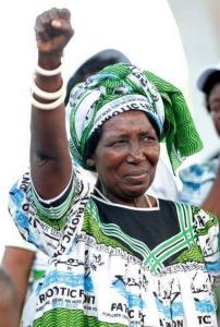 Inonge Wina, nueva vicepresidenta de Zambia