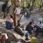 Campamento, monte Gurugú. / Severiano Bocanegra