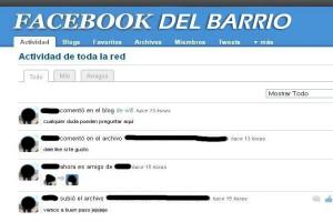 Facebook del barrio. Fuente: Cubanet