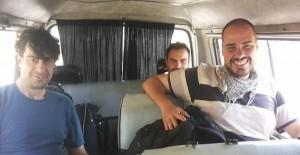 José Manuel López, Ángel Sastre y Antonio Pampliega