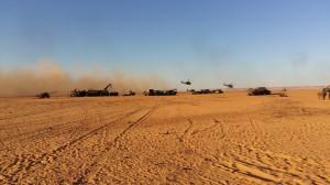 Tropas francesas al sur de la frontera Libia. Carlotta Gall/The New York Times