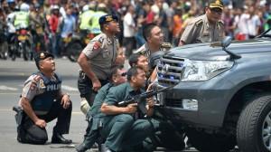 La zona ha sido acordonada por los cuerpos de seguridad durante horas (Fuente: AFP)