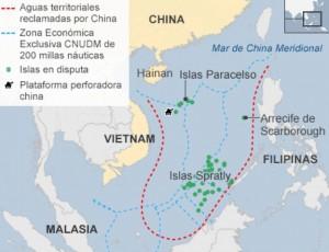 Disputas mar Meridional de China