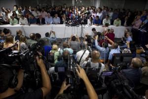 El diputado venezolano Henry Ramos Allup 3 de enero en Caracas (Venezuela). EFE