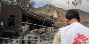 Bombardeo sobre Médicos Sin Fronteras