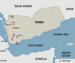 Proyectos MSF en Yemen