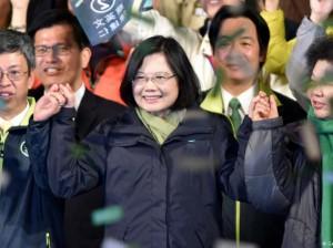 Tsai Ing-wen líder PDP Taiwán