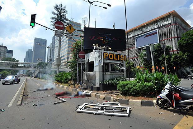 caseta policia Yakarta