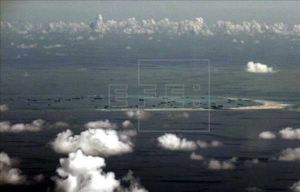 islas Spratly artificial
