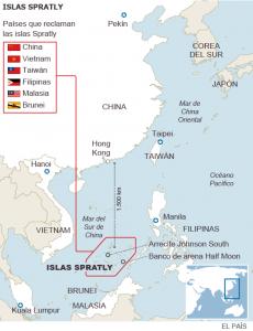 Disputas mar de China Meridional