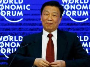 Li Yuanchao, vicepresidente de la República Popular China, en Davos 2016.
