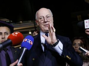 Staffan de Mistura (Denis Balibouse / Reuters)