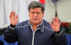 El candidato electoral Cesar Acuña