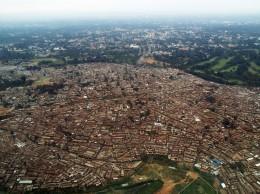 Vista aérea de Kibera. Creative Commons.