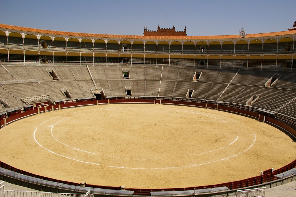Plaza de toros de Las Ventas, Madrid. Creative Commons