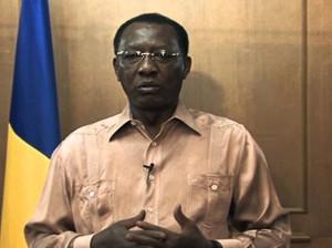 El presidente de la República de Chad, Idriss Déby Itno.