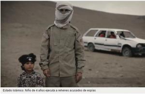 niños 4 años ISIS