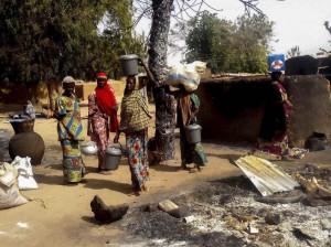 Fuente: EFE. Imagen de archivo de un pueblo de Nigeria.