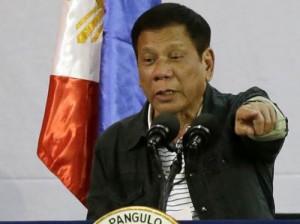 Duterte, durate el foro empresarial del pasado lunes
