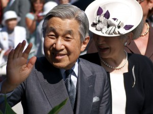 El emperador japonés, Akihito