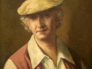 Enrique Ochoa autorretrato