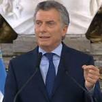 Macri anuncia un nuevo acuerdo para la explotación del yacimiento de Vaca Muerta