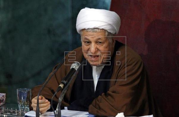 Rafsayani destacó por su fuerte espíritu reformista y revolucionario. Fuente: EFE