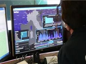 Una agente del  Centro Nacional contra el Delito y la Protección de Infraestructuras Críticas. Fuente: Ministerio Interior Italiano