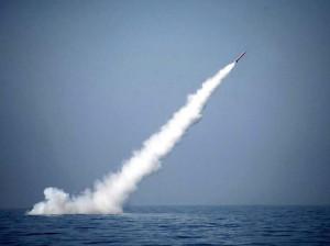 El misil Babur3, probado con éxito por Pakistán el pasado lunes