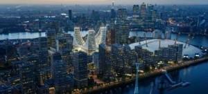 Imágen 3D de la península de Greenwich